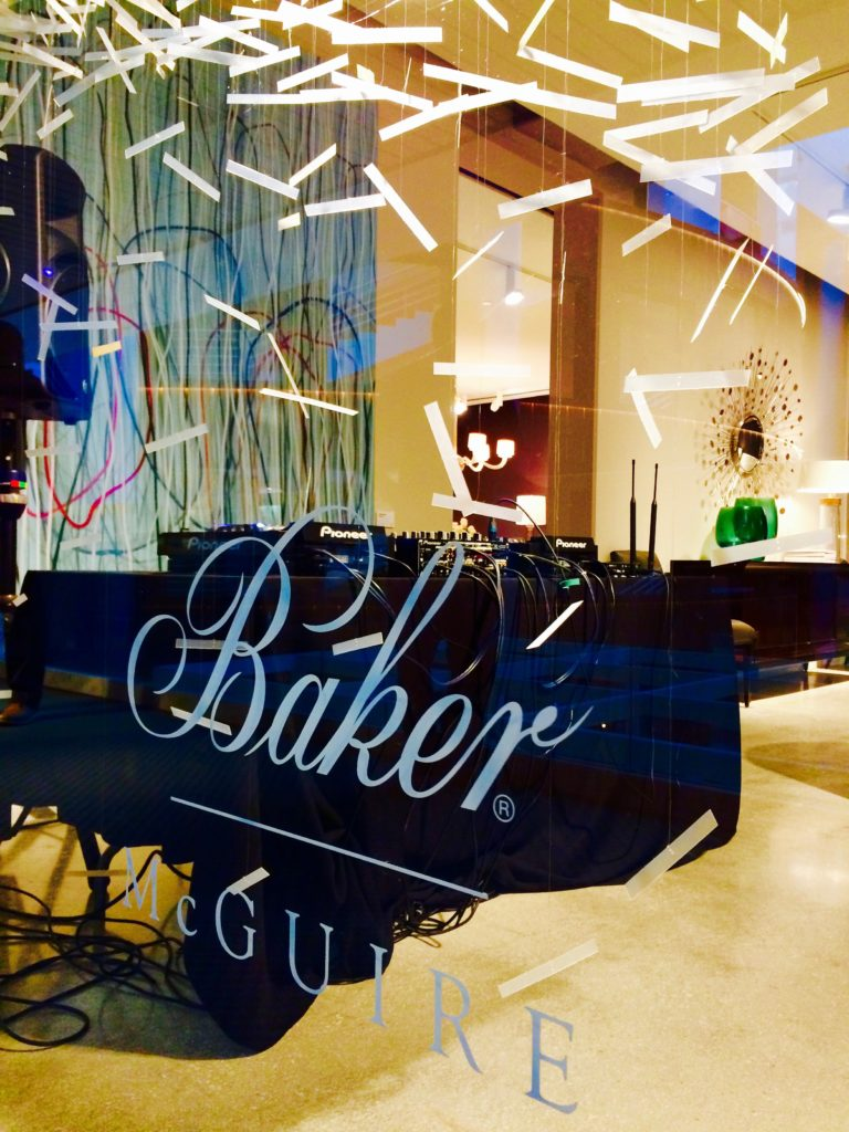 EVENT AT THE LUXURIOUS BAKER FURNITURE @ DCOTA ::