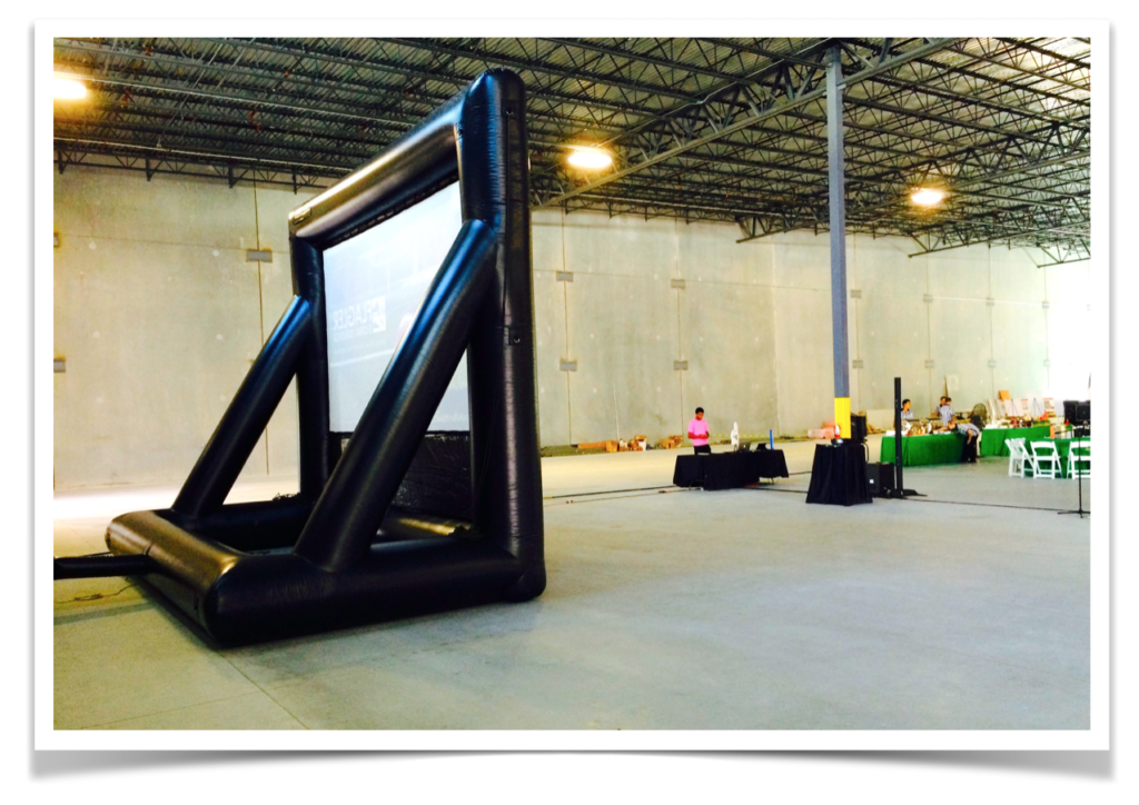 Projection Screen Rentals in Miami Fort Lauderdale audio visual AV services