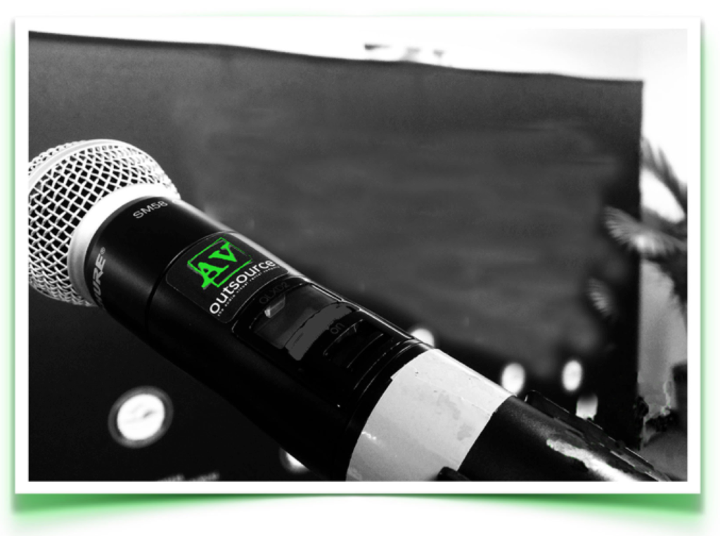Hyatt Place Miami Airport Event Microphone Audio Visual AV outsource Rentals