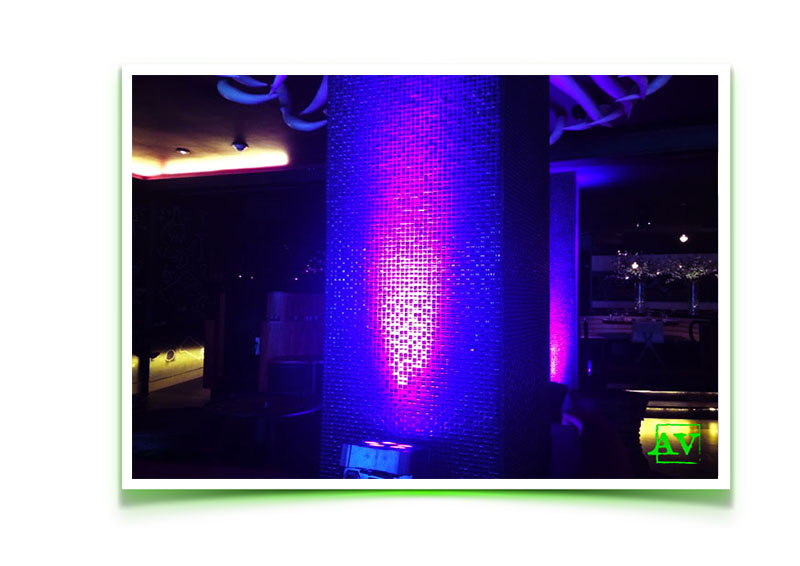STK Miami Beach uplighting AV event meeting services audio visual outsource
