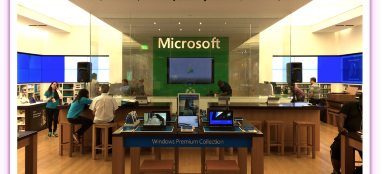 Audio Visual Rentals :: Microsoft Dadeland Mall :: Miami Store Event