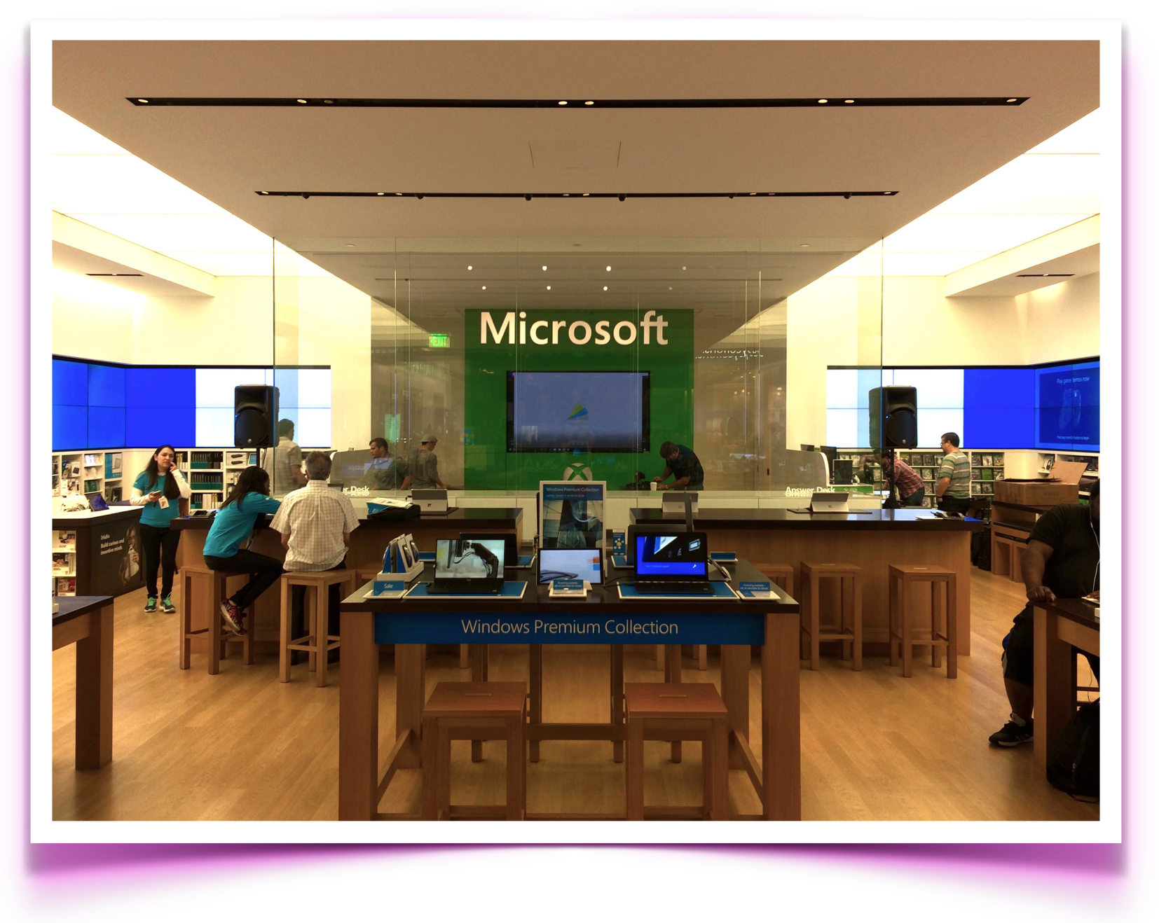 audio visual rentals    microsoft dadeland mall    miami