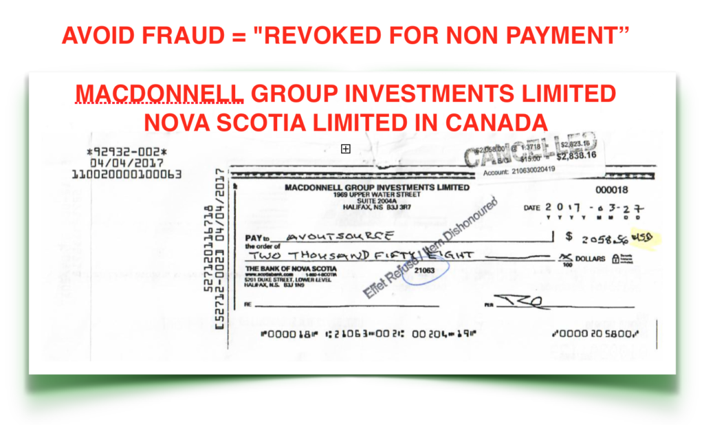 Macdonnell Group Investments Canada Fraud Ralston Macdonnell Mathew James Healy Macdonnell Group Investments Revoked For Non Payment Seminar