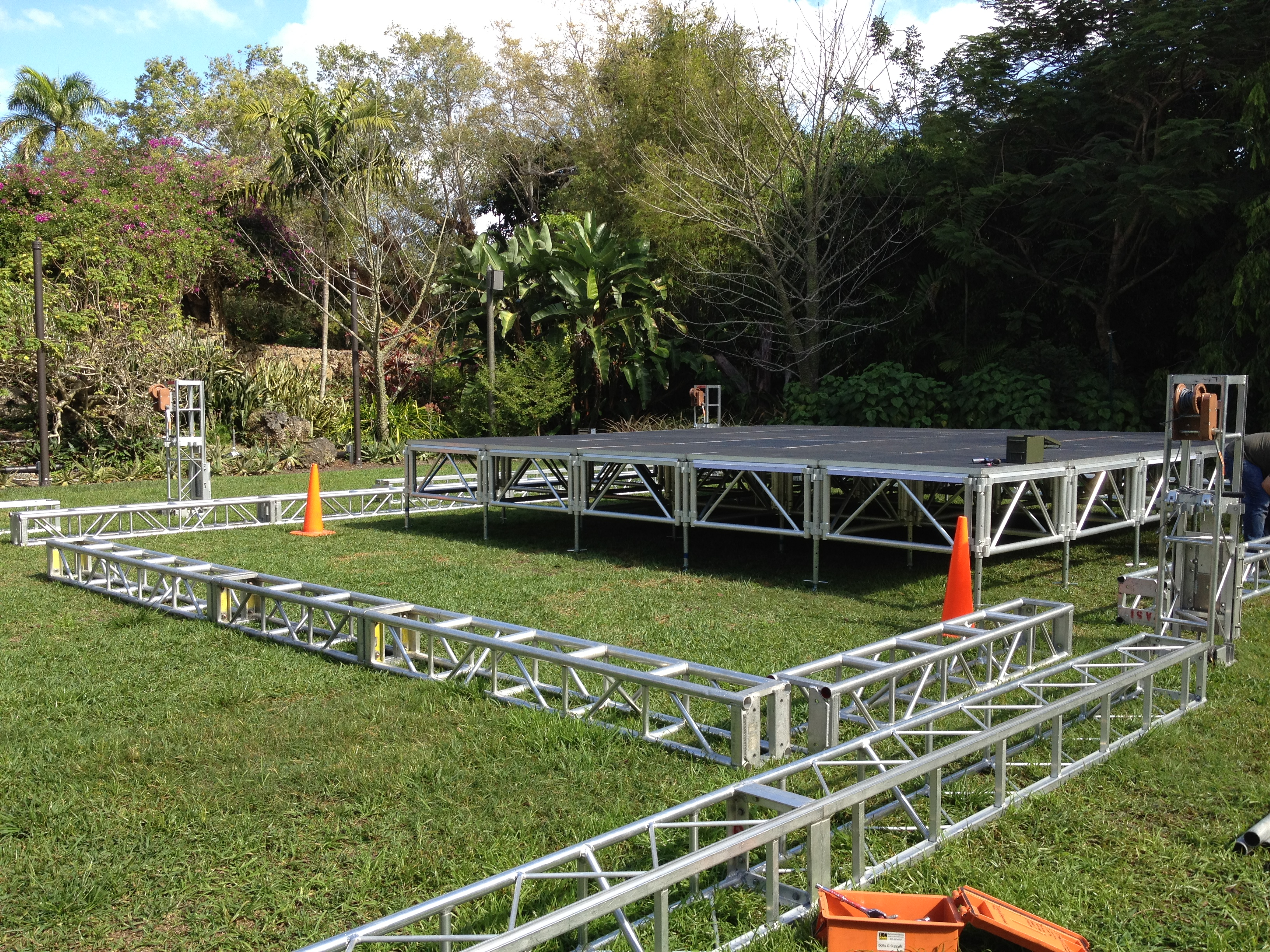 Staging Lighting Truss Rentals Miami Fort Lauderdale